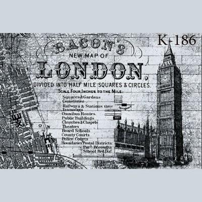 """Интерьерная деколь """"London"""""""