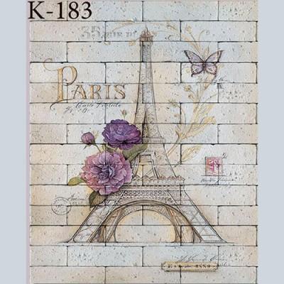 """Интерьерная деколь """"Paris"""""""