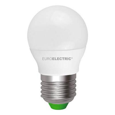 EUROELECTRIC LED Лампа G45 5W E27 4000K