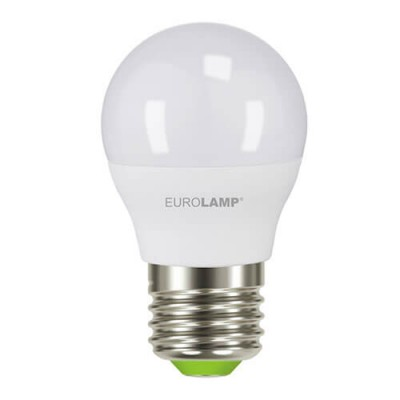 EUROLAMP LED Лампа ЕКО G45 5W E14 4000K