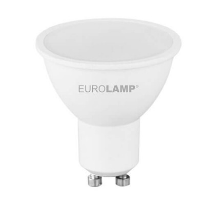 EUROLAMP LED Лампа ЕКО SMD MR16 5W GU10 3000K