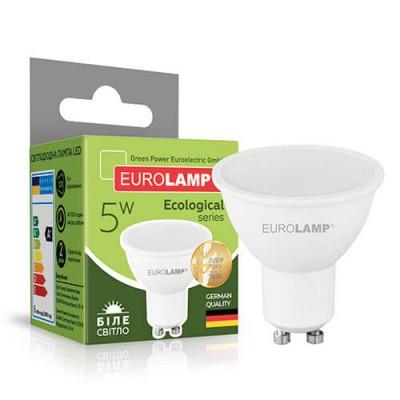 EUROLAMP LED Лампа ЕКО SMD MR16 5W GU10 4000K