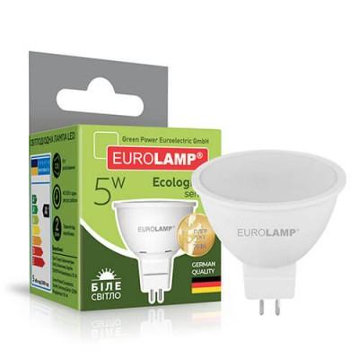 EUROLAMP LED Лампа ЕКО SMD MR16 5W GU5.3 4000K