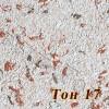Жидкие обои Новый-Тон 17, композиция цветов, смесь шёлка и целлюлозы