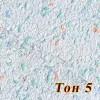 Жидкие обои Новый-Тон 5, композиция цветов, смесь шёлка и целлюлозы